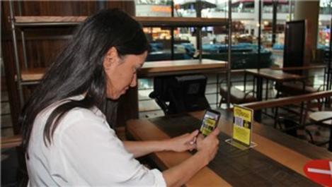 QR koduyla yiyecek siparişi İstanbul Havalimanı'nda hizmete girdi