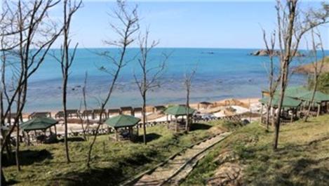 Riva Elmasburnu Tabiat Parkı yaza hazırlanıyor