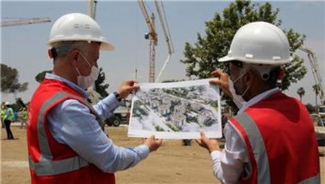 TOKİ Mersin'de 416 konutun inşasına başlandı