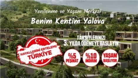 Benim Kentim Yalova, 467 bin TL'den satışa çıktı!