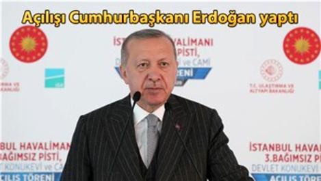 İstanbul Havalimanı'nın 3'üncü pisti açıldı