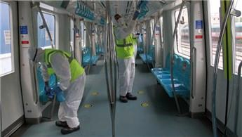 YHT ve Marmaray vagonları her gün dezenfekte ediliyor