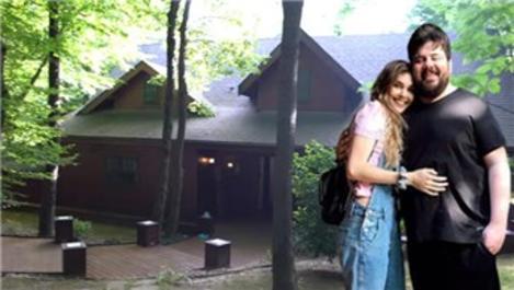 Eser ve Berfu Yenenler çiftinin orman içindeki yeni evi!