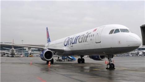 Onur Air yurt içi uçuşlarına 26 Haziran'da başlıyor