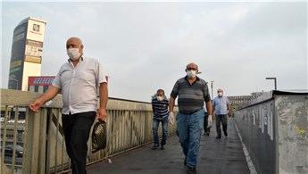 İstanbullular güne maske ile uyandı