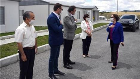 Uşak Valisi Funda Kocabıyık YHT şantiyesini ziyaret etti