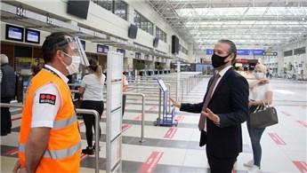Antalya Havalimanı üç altın kuraldan taviz vermeyecek