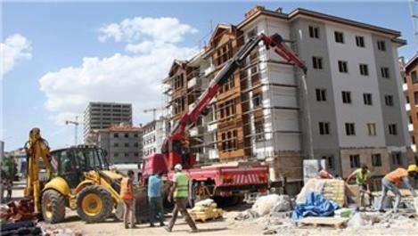 Elazığ'daki deprem konutları 2 ay sonra teslim edilecek
