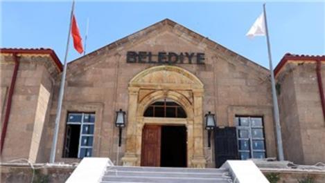70 yıllık Ürgüp Belediye binasına tarihi dokunuş!