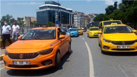 İBB'nin 6 bin taksi teklifi UKOME'de reddedildi