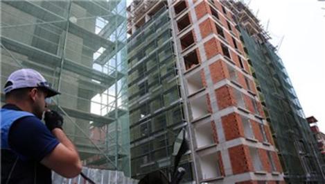 Ümraniye'de YKS nedeniyle inşaatlar uyarıldı