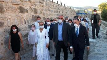 Bakan Ersoy, Bodrum Kalesi'nin açılışını yaptı