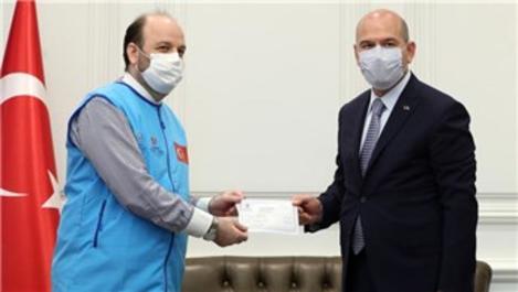 İçişleri Bakanı Soylu'dan TDV'nin 'İyilik Konutları'na destek