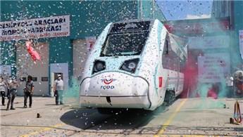 Yerli trenin ilk sürüşü Cumhurbaşkanı tarafından yapılacak