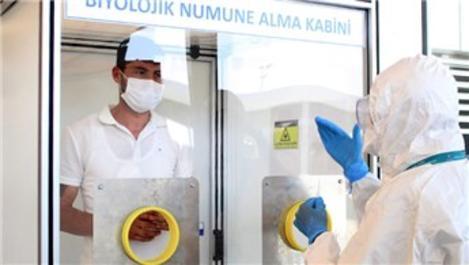 Antalya Havalimanı'na PCR testi laboratuvarı kuruldu