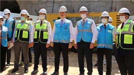 'Gebze metrosunu Mayıs 2023'te açmayı hedefliyoruz'