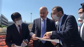 Bakan Karaismailoğlu havalimanı metro inşaatını denetledi
