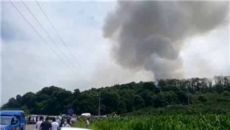 Sakarya'da havai fişek fabrikasında büyük patlama!