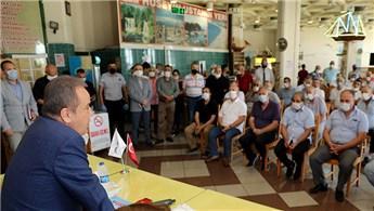 Antalya Şehirlerarası Otobüs Terminali esnafına kira müjdesi!