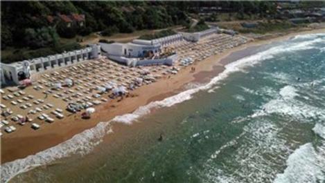 Kilyos'ta vatandaşların ücretli plaj tepkisi!