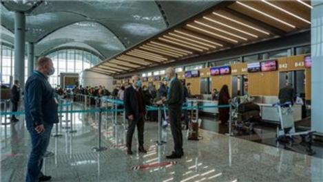 İstanbul Havalimanı'nı Haziran ayında 604 bin 662 yolcu kullandı