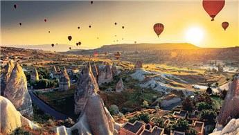 Kapadokya'yı Haziran ayında 16 bin 791 turist ziyaret etti