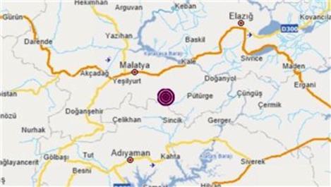 Malatya'da korkutan iki deprem!