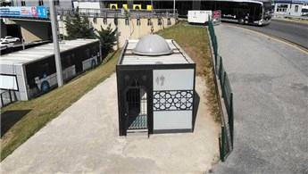 İBB, Zincirlikuyu metrobüs durağındaki mescide kilit vurdu