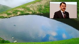 Bakan Kurum'dan Dipsiz Göl paylaşımı!