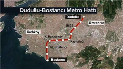 Dudullu-Bostancı Metro Hattı'nın yapımına yeniden başlandı!