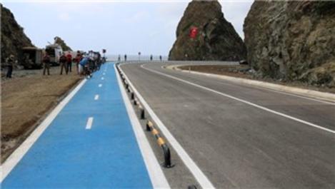 Türkiye'nin en uzun bisiklet yolu 2.5 saatten 40 dakikaya düşecek