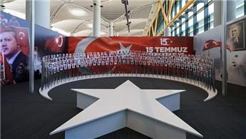 15 Temmuz Zafer Fotoğrafları İstanbul Havalimanı'nda sergileniyor
