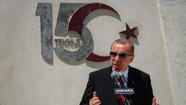 Başkan Erdoğan, 15 Temmuz anma törenine katıldı