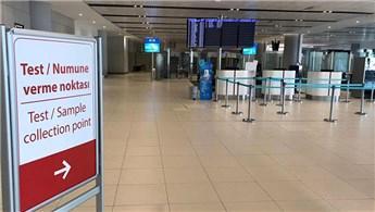 İstanbul Havalimanı'nda 1.500 yolcuya korona virüs testi yapıldı