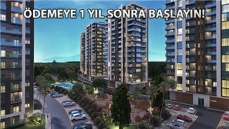 Rengi Antalya'da 350 bin TL'ye! Yüzde 0,64 faizle!