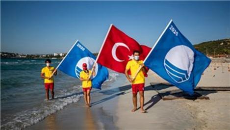 Dünyaca ünlü Ilıca Plajı, Mavi Bayrak aldı