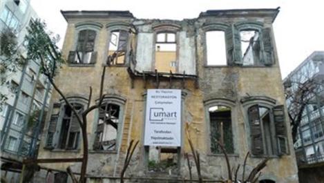 Tarihi Levanten Köşkü restore ediliyor