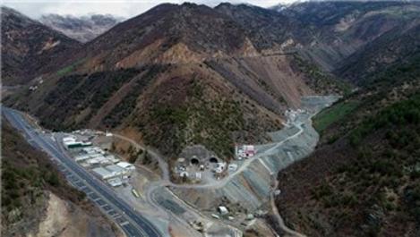 Yeni Zigana Tüneli'nin yüzde 68'i tamamlandı