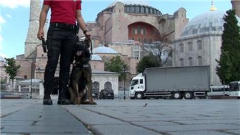 Ayasofya Camisi'nde hazırlıklarda sona geliniyor