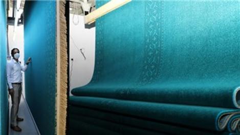 Ayasofya-i Kebir Camisi'nin halıları Manisa'da dokunuyor