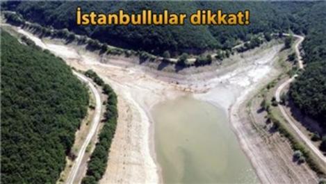 İstanbul'a su taşıyan Trakya'daki barajlar kurudu