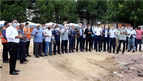 İzmit Seka Hastane Camisi'nin temeli atıldı