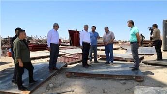 Battalgazi'de deprem konutlarının inşaat çalışmaları başladı