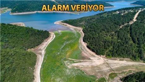 Alibeyköy Barajı'nda doluluk oranı yüzde 21,97'ye düştü
