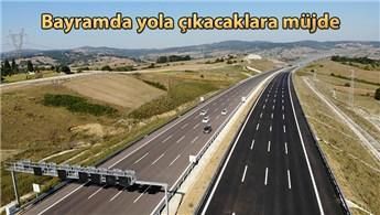 Kuzey Marmara Otoyolu'nun Sevindikli-İzmit geçişi açıldı