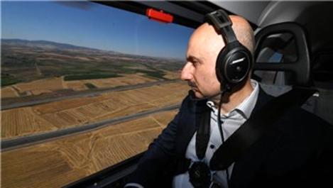 Bakan Karaismailoğlu, Ankara-Sivas YHT Projesi'ni inceledi