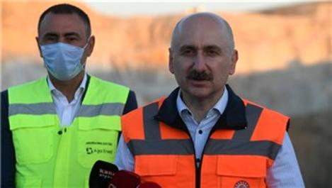 Ankara-Sivas YHT tünelinin ucunda ışık göründü