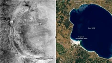NASA'dan Salda Gölü paylaşımı!