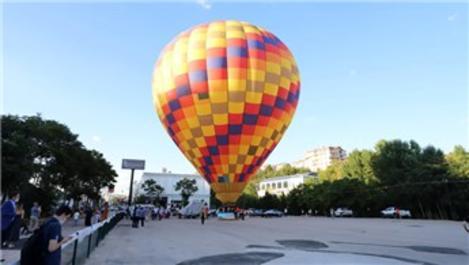 Ankaralılar, sıcak hava balonuyla tanıştı