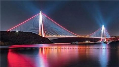Yavuz Sultan Selim Köprüsü halatlarında çalışma
